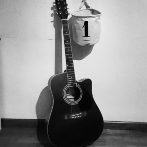 My acoustic guitar