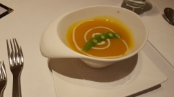 Pumpkin Soup - A little bland on the sweet side