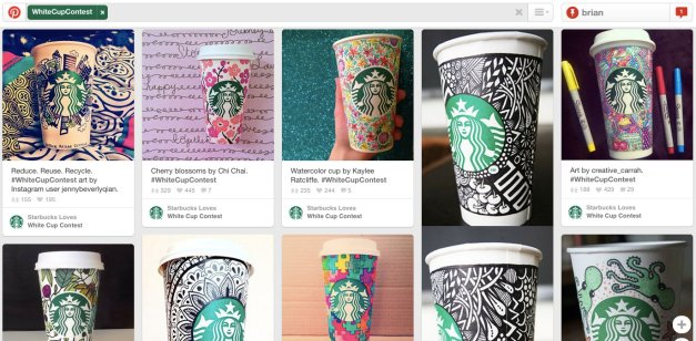 Starbucks – #WhiteCupContest
